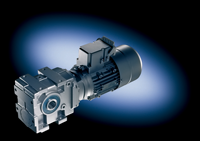 Stirnradschneckengetriebemotoren