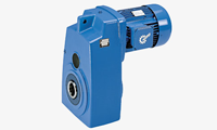 NORD flat gear motors