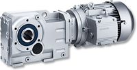 Conical wheel gear motors