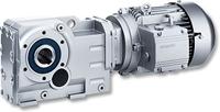 Conical wheel gear motors