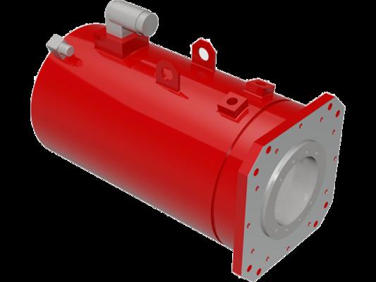 Hollow shaft servo motors